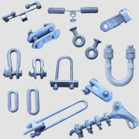 Buy cheap Power Accessories Transmission Line Fittings Overhead Line Tower Iron Parts from wholesalers