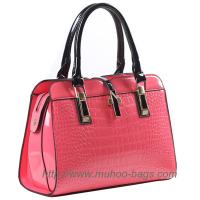 Buy cheap Fashion Pink Snake PU Leather Women bag for outdoor (MH-6040) from wholesalers