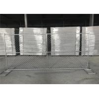 Buy cheap Wholesale 6'*12' temporary perimeter security chain link fence for sale from wholesalers