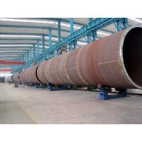 Motorized Moving Painting Roller Wind Tower Production Line for Pile Rack Manufactures