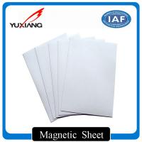 Buy cheap Strong Flexible Magnetic Sheet Rolls 0.3mm - 10mm Thickness For Bookmarks from wholesalers