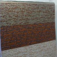 Buy cheap Metallic Embossed Wall Panel (PU core material) from wholesalers