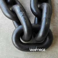 Buy cheap Durable CM490 CM690 Offshore Mooring Chain High Tensile Strength Hot Dip Galvanized from wholesalers