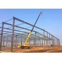 Buy cheap Large Span PEB Steel Buildings / Pre Engineered Building Systems Construction from wholesalers