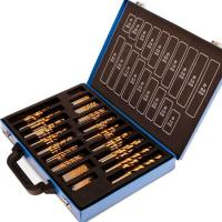 Buy cheap 200pcs Titanium Nitride Twist HSS Drill Bit Sets with Carry Case High Precision and High Speed from wholesalers