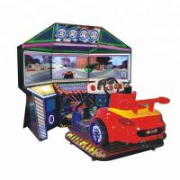 Buy cheap 3 Screen Motor Racing Arcade Machine Crazy Motorbike Stable For Game Center from wholesalers