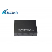 Wholesale RJ45 Copper To 10GBASE-X SFP+ Fiber Media Converter FCC For Ethernet from china suppliers