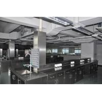 Buy cheap Long Lasting Stainless Steel Lab Furniture Metal Lab Casework , Benches And Cabinets from wholesalers