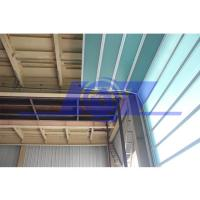 Buy cheap Germany Technical Fiberglass Sound Isolation Panel Industrial Sectional Door from wholesalers