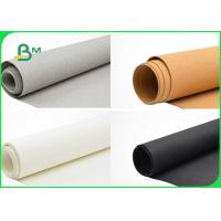 Buy cheap 0.55mm DIY Durable Multi Coloured Washable Fiber - Based Textured Kraft Paper from wholesalers