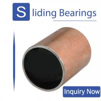 Buy cheap Lead Free Oil Free Compound Bearing Used In Food Machinery Pharmaceutical Machinery from wholesalers