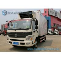 Buy cheap Foton 6 Wheelers Refrigerated Trailer Aumark 3 Ton Freezer Truck from wholesalers