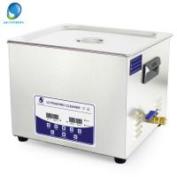 Buy cheap 15L Fast Clean Oil Ultrasonic Cleaning Services , Ultrasonic Washer For Carburettor from wholesalers
