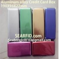 Aluminum alloy credit card box, Stainless steel card box, European & American styles Manufactures