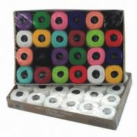 Buy cheap Cotton Crochet Thread, Various Colors are Available from wholesalers