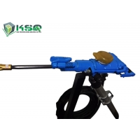 Buy cheap Mining  Quarry Tunnel Pusher Leg hand held rock drilling equipment hand held rock drill machine from wholesalers
