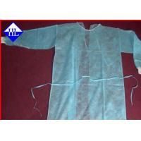 Buy cheap Disposable Medical Surgical Gowns Non Woven Fabric Anti Pull 10GSM - 60GSM from wholesalers