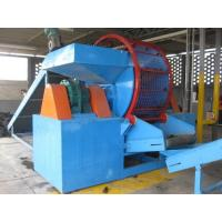 Wholesale Professional Portable Tire Shredder , Recycling Tires Machine High Efficiency from china suppliers