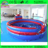 Buy cheap Cheap price outdoor playground kids games inflatable chanical bull ride for sale shopping centers mechanical bull rodeo from wholesalers