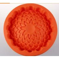 Buy cheap luxury  silicone cake mold  , flower shape silicone cake mould ,silicone baking mould from wholesalers