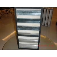 Buy cheap H12 to H14 V Bank Compact Air Filter, Mini Pleated Compact HEPA Filter from wholesalers