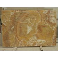 Wholesale 3D Natural Orange Onyx Wall Decor Cladding Panels from china suppliers