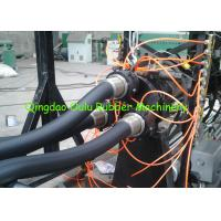Energy Saving Rubber Foam Pipe Production Line 1-12 Pipes Per Time