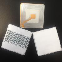 Buy cheap EAS RF LABEL 8.2MHz MEAT LABEL4040 RF frozen label security system label from wholesalers