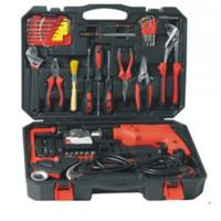 Buy cheap 71 pcs household tool set,with handsaw ,screwdrivers ,drills ,water pump pliers . from wholesalers