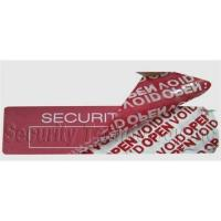 Buy cheap High-resident tamper evident void label from wholesalers