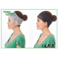 Buy cheap Elastic Polypropylene disposable hair bands for Ladies , Breathable from wholesalers