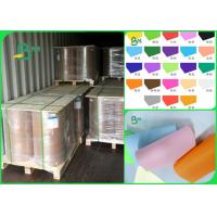 Buy cheap 60gsm 70gsm 80gsm pure wood pulp good writing performance Colored offset paper from wholesalers