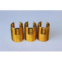 Buy cheap high quality and hot sales Customied self tapping threaded insert M3 M4 M5 M6 M8 M10 Brass inserts from wholesalers