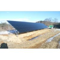 Buy cheap Solar Ground mounting system with Mounting bracket solar panel ground mounting brackets 1MW PV mounting kits solar mount from wholesalers