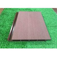 Buy cheap Plastic External Wood Cladding Panels / Vinyl Exterior Wall Cladding Eco Friendly from wholesalers