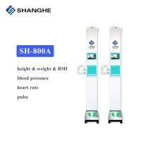 Buy cheap BMI blood pressure heart rate measuring Medical Height and Weight Scales for Pharmacy from wholesalers