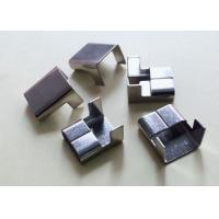 China 13mm SS304 Stainless Steel Wing Seals Use With 1 2 Steel Strapping Anticorrosive on sale