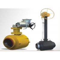 Buy cheap Stainless Steel Ball Valve Fully Welded Feature High Flow Capacity from wholesalers