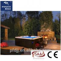 Buy cheap European Standard Freestanding Spa Tub Acrylic Material Optional Color Jet Hot Tub from wholesalers