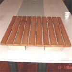 Buy cheap Teak wood shower mats from wholesalers