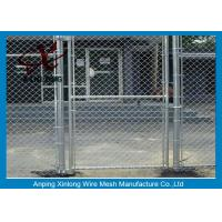 Buy cheap Diamond Hole Chain Link Mesh Fence Galvanized Wire Mesh For Sports Ground Barrier from wholesalers