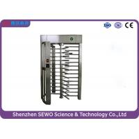Wholesale Iron gray Full Height Turnstile / Single or/ bi - direction pedestrian turnstile gate from china suppliers