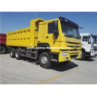 China Mining Site Using HOWO Dump Truck With 15-25m³ Dumper Bucket Capacity , 371hp Or 336hp As Optional on sale