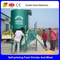 Buy cheap China strongwin corn farming equipment electric feed grinder mixer from wholesalers