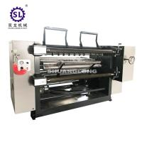 Wholesale PVC and PET Window Film Slitterwith Automatic Tension , Paper Slitting Machine from china suppliers