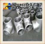 Buy cheap China manufacturer offer ASTM B363 titanium pipe fitting titanium tee GR2 titanium from wholesalers