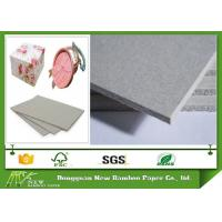Buy cheap 1800gsm / 3mm Carton Gris Laminated Grey Paperboard For Parkaging Boxes product