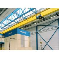 Buy cheap Single Girder Travelling Overhead Crane With Monorail Electric Hoist FEM / DIN Standard from wholesalers