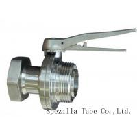 Buy cheap TP304 TP316L SF1 Polished Stainless Steel Fittings And Valves For Beverage Dairy Wind Equipment from wholesalers