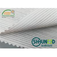Wholesale Smooth Canvas Interlining For Tailoring Materials / Men Suits Fusible Interlining Fabric from china suppliers